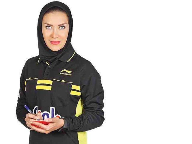 بانوی ایرانی، فینال فوتسال المپیک جوانان را قضاوت می نماید