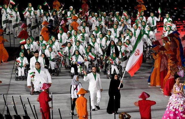 محقق شدن شعار و نام کاروان ایران در اندونزی