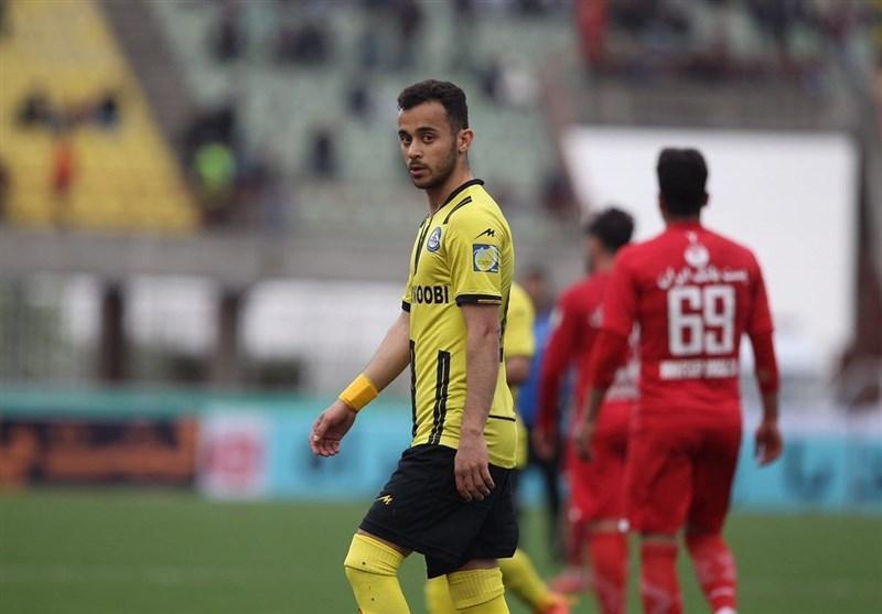 سیف اللهی: بازی را در نیمه اول به استقلال باختیم، داور صحنه های 50-50 را به نفع حریف سوت زد