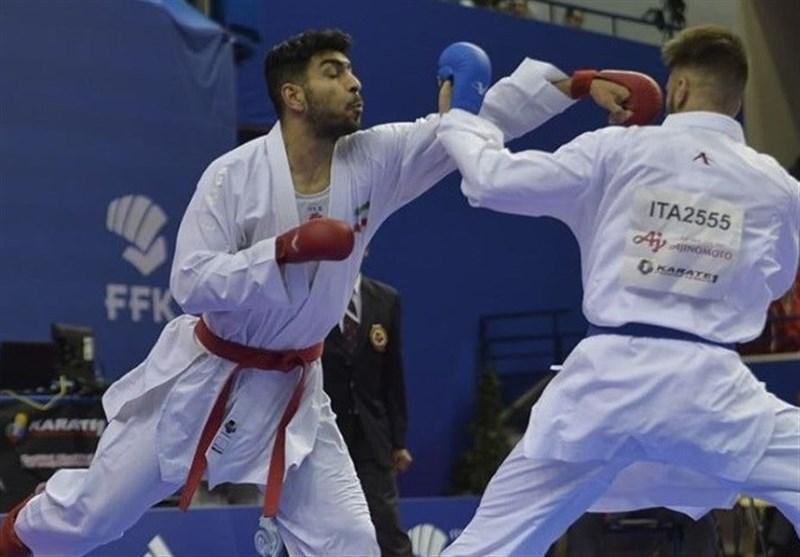 لیگ برتر کاراته وان مراکش، اباذری، خاکسار و عباسعلی برنز گرفتند، دست پورشیب به مدال نرسید