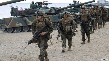 فرانس پرس: کره جنوبی و آمریکا مانورهای نظامی مشترک خود را ادامه نمی دهند