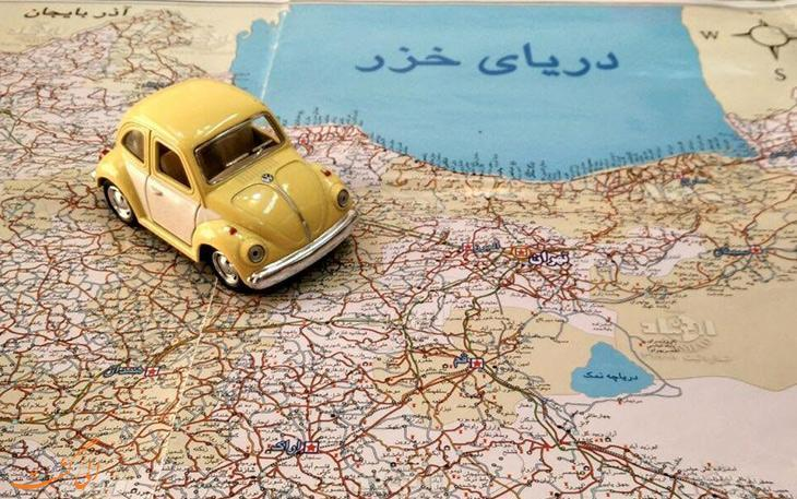 راهنمای سفر به خارج از کشور با خودروی شخصی
