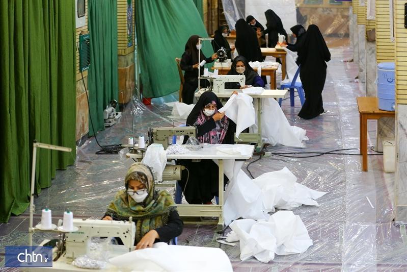 فراوری و توزیع رایگان 700هزار ماسک توسط هنرمندان صنایع دستی اصفهان
