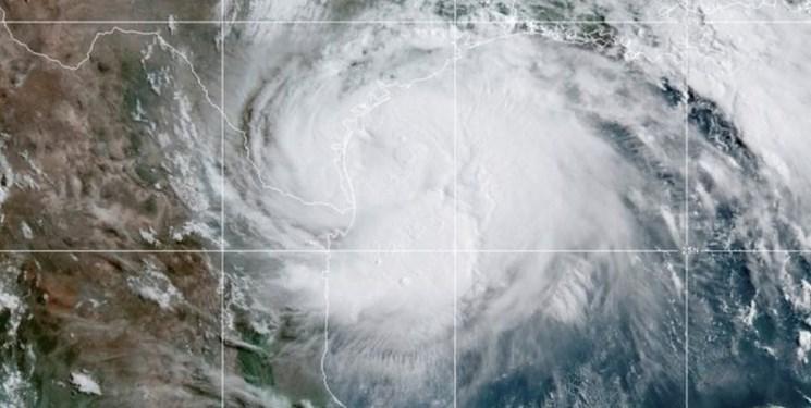 تاخت وتاز توفان پرقدرت هانا در تگزاس؛ اعلام هشدار فاجعه