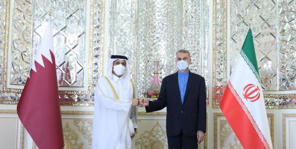 ملاقات وزیر خارجه قطر با امیرعبداللهیان